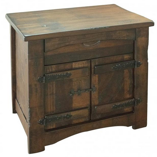 Atlantic Solid Wood Nightstand - Crafters and Weavers
