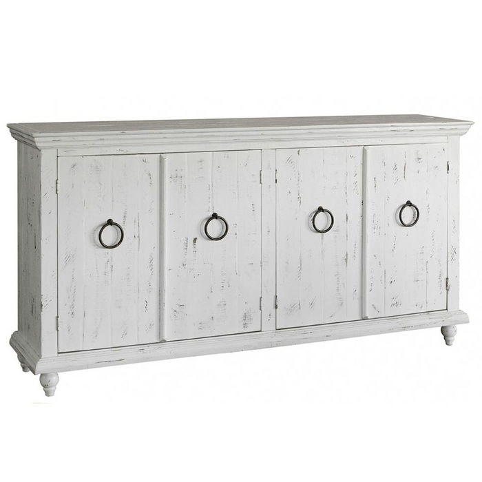 Macao 4 Door Sideboard - White - 73""