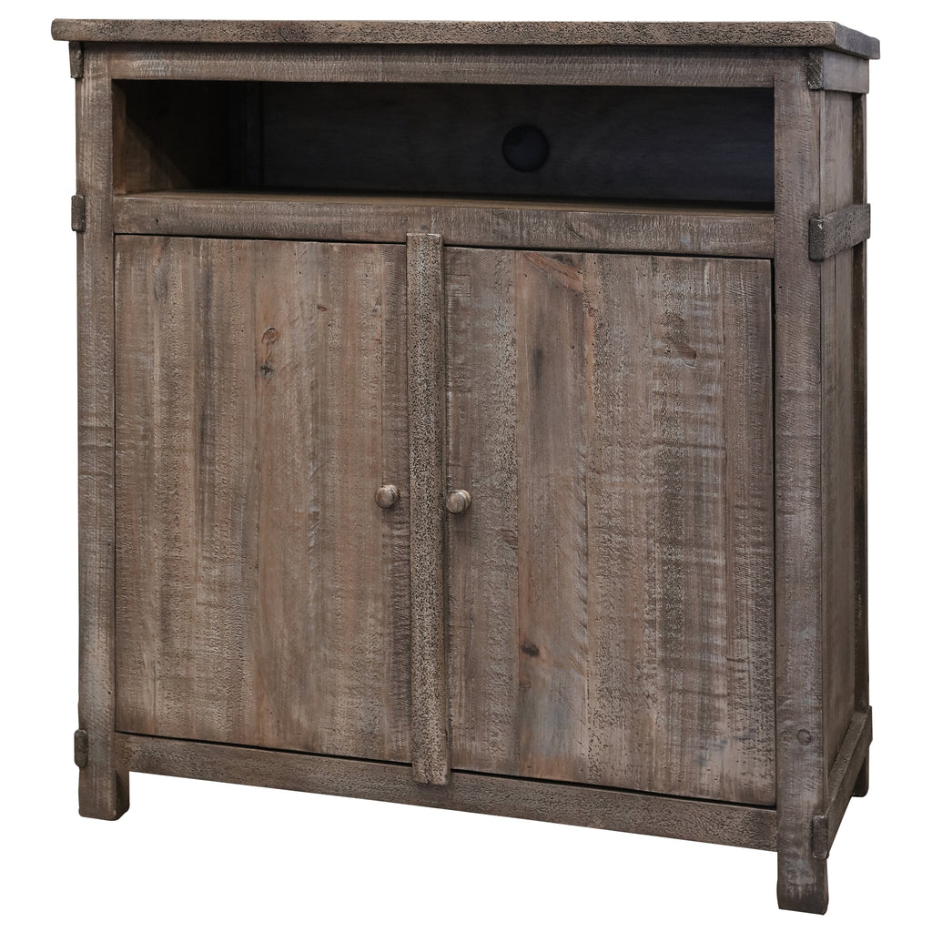 Greenview Weathered Gray Media Chest
