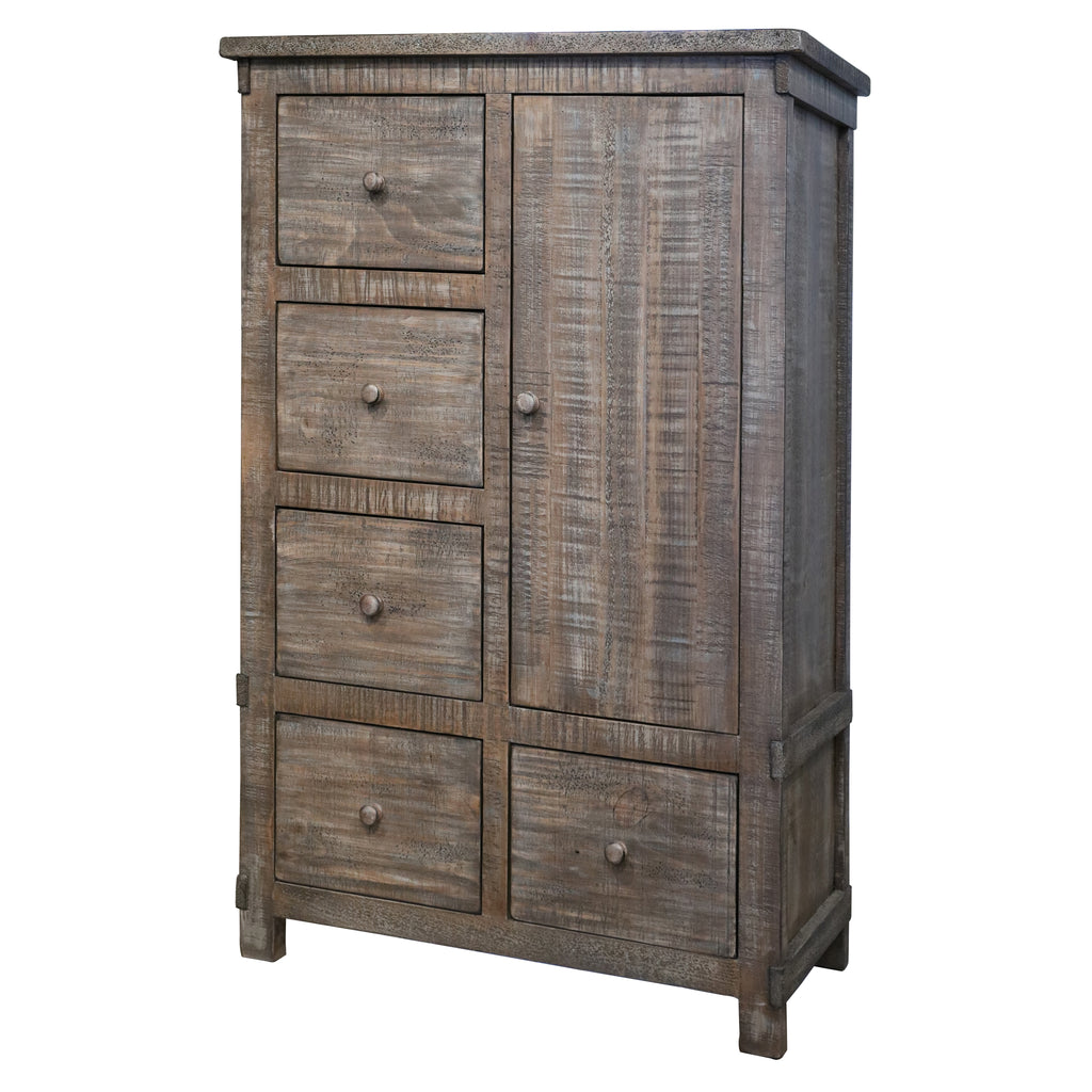 Greenview Weathered Gray 5 Drawer Chest
