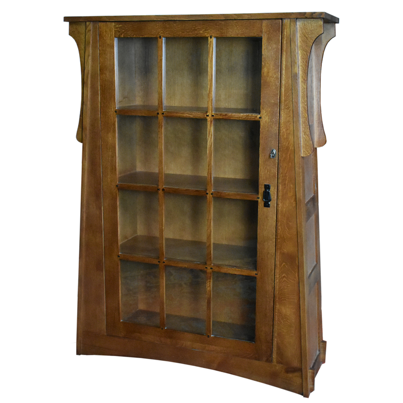Pair of Craftsman Crofter Bookcases