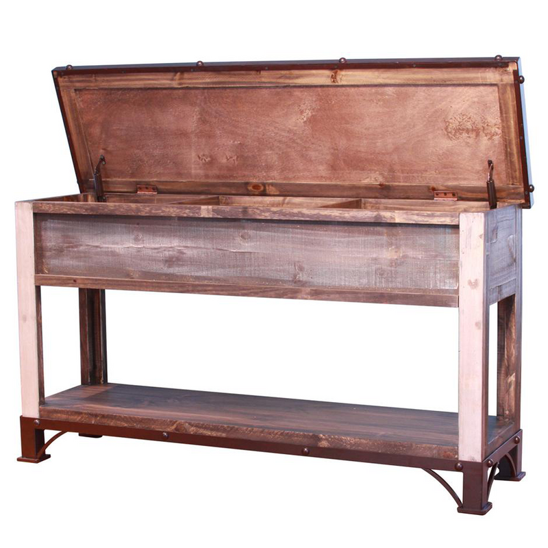Bayshore Lift Top Console Table