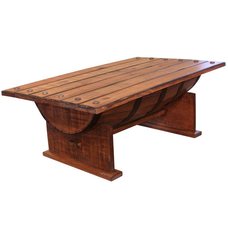 Greenview Half Barrel Coffee Table