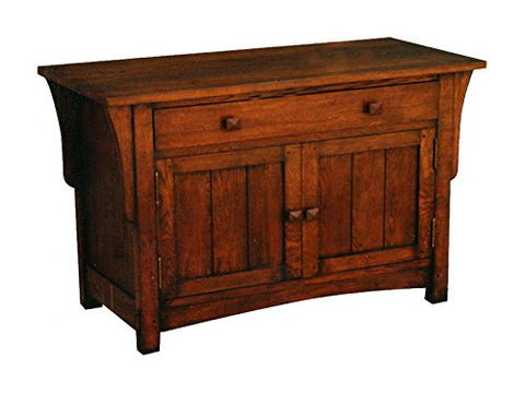 Arts and Crafts Mission Oak Cabinet or End Table