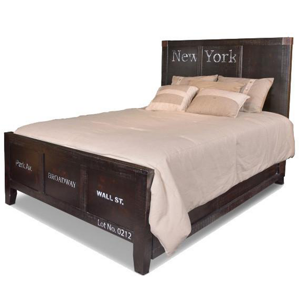 LAST ONE! City Queen Size Bed