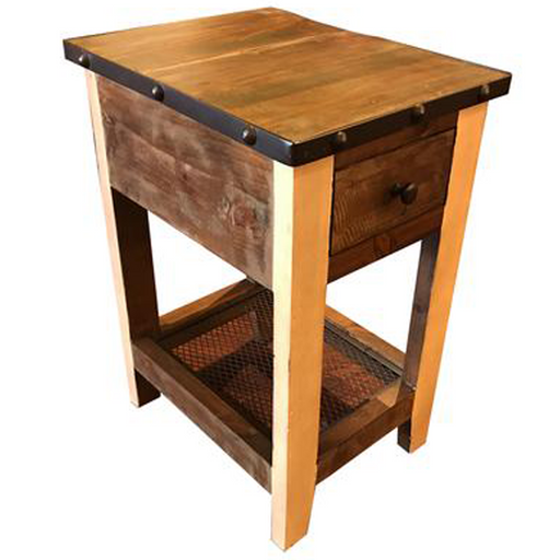 Addison Loft Side Table - Crafters and Weavers