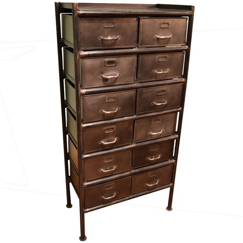 West Town 12 Drawer Cabinet