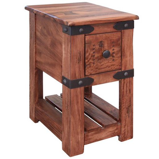 Granville Parota Wood Side Table - Series II - Crafters and Weavers