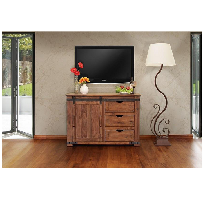 Granville Parota Sliding Door TV Stand - 50""