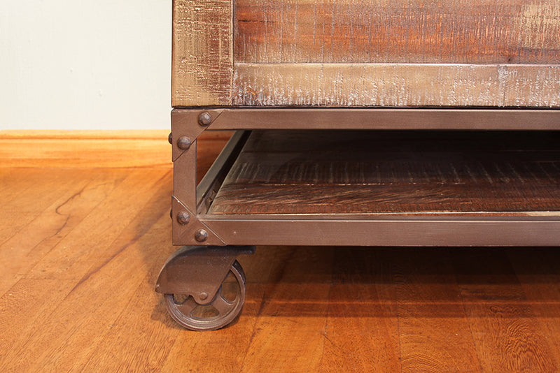 Greenview Forged Iron Lift Top Coffee Table