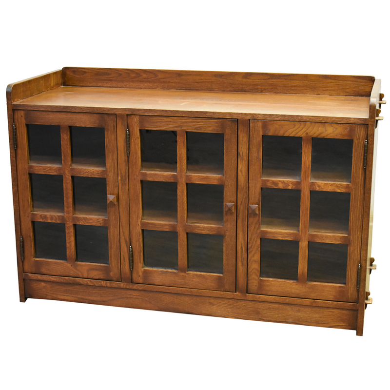 Lyndi Rustic 3 Drawer / 4 Door Console