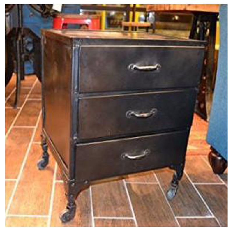 West Town 3 Drawer Cabinet