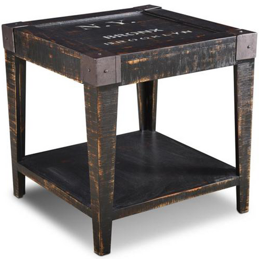 City Open End Table - New York - Crafters and Weavers