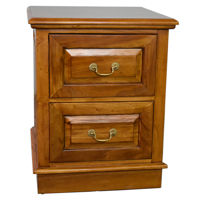 Legacy 2 Drawer File Cabinet - Light Brown Walnut