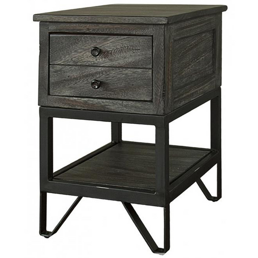 Sawyer Parota Wood Side Table - Crafters and Weavers
