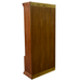 Legacy 5 Stack Barrister Bookcase - Light Brown Walnut - Crafters and Weavers