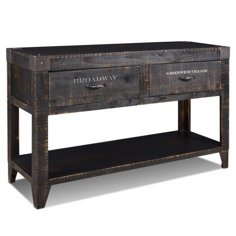City 2 Drawer Console Table