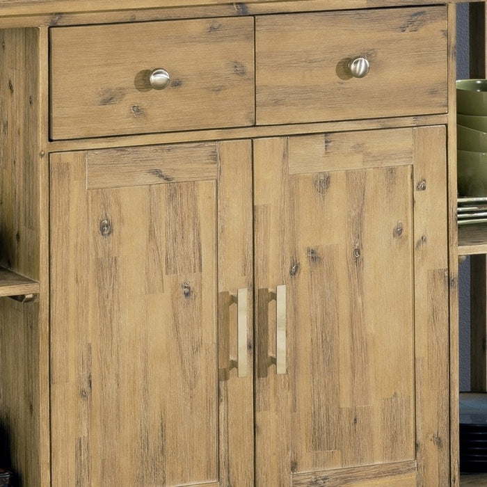 Farmhouse Style Butcher Block Sideboard