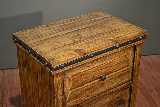 Addison 2 Drawer Nightstand - Crafters and Weavers