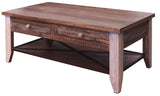 Greenview Loft 4 Drawer Coffee Table
