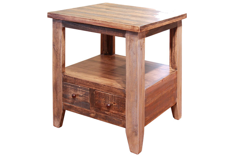Bayshore 2 Drawer End Table
