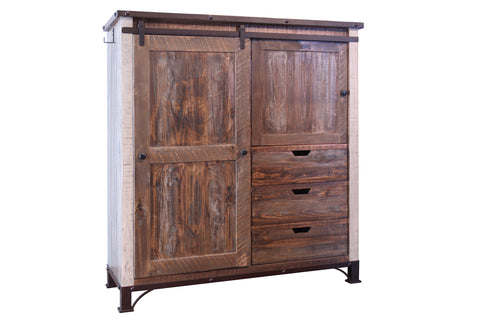 Bayshore Farmhouse Gentleman's Chest / Armoire