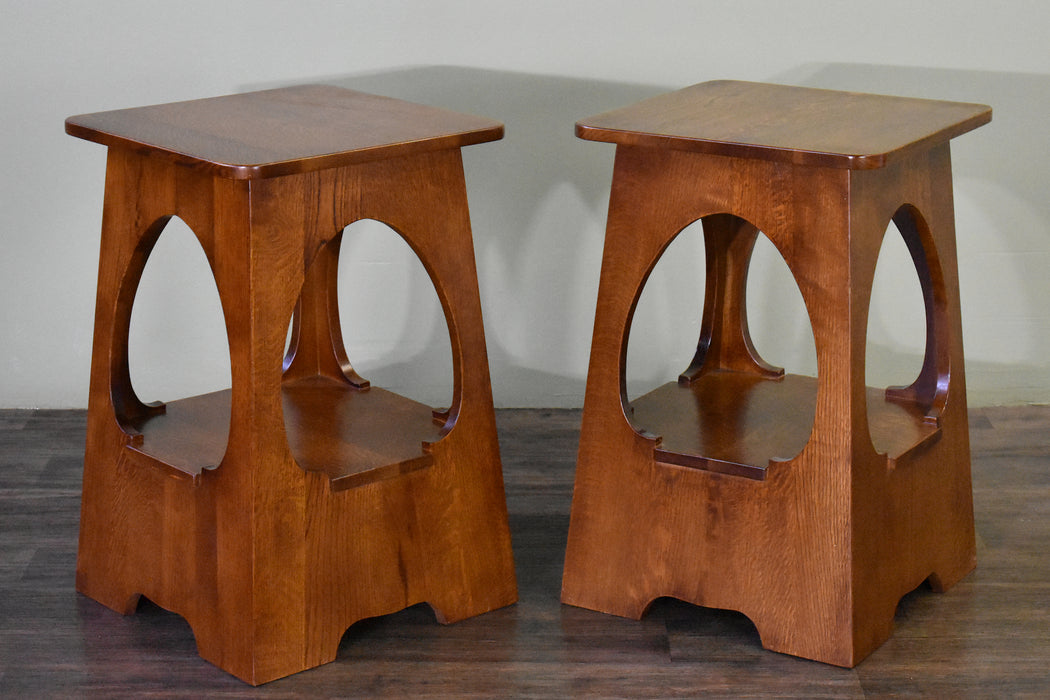 Arts and Crafts / Mission Style Taboret End Table - Model A25