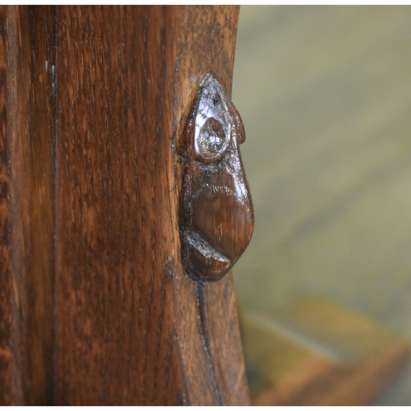 Mission Solid Oak Mouse Detail End Table