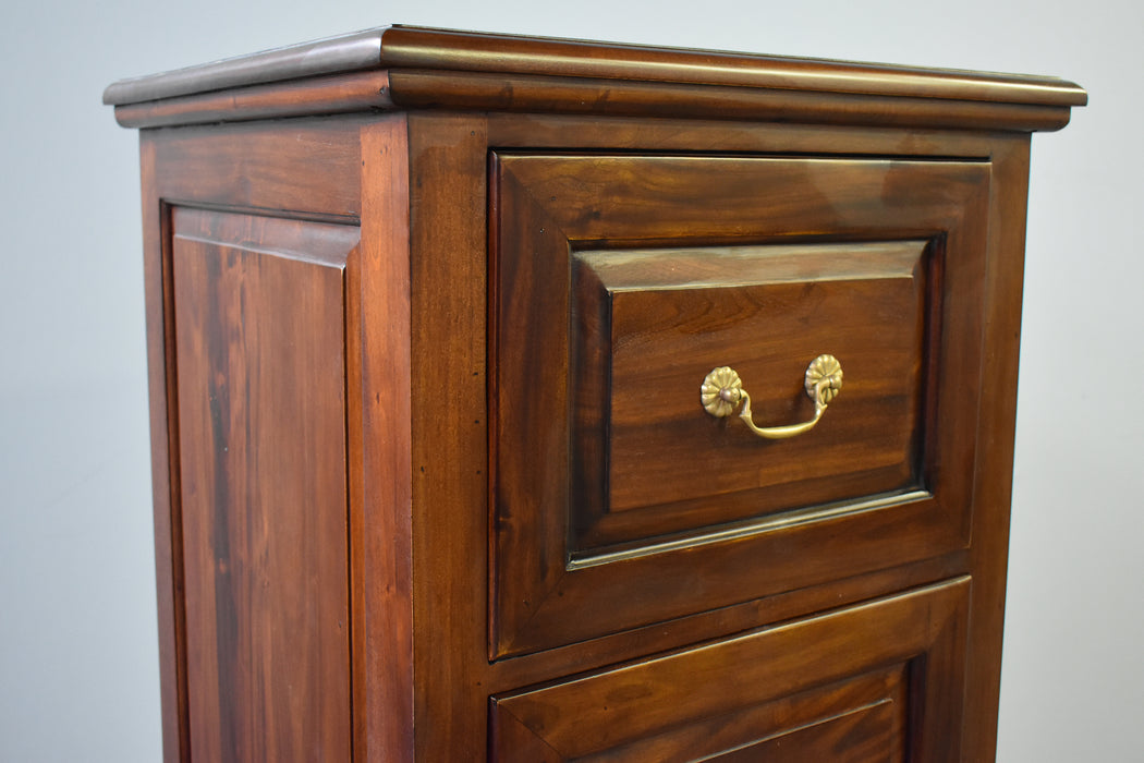 Legacy 4 Drawer File Cabinet - Brown Walnut