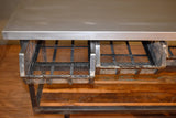 Ventura 4 Drawer Industrial Console Cart