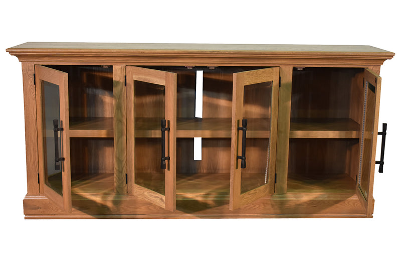 "Kenton 85"" TV Stand - Oak"