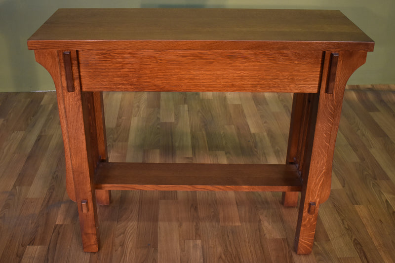 Arts & Crafts Crofter Console Table