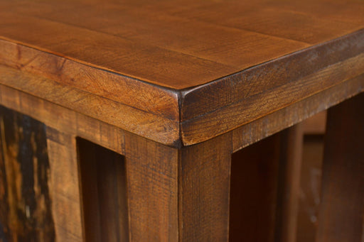 Marrone Open Side Table - Crafters and Weavers