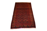 rug3623 3.9 x 6.4 Tribal Rug - Crafters & Weavers - 1