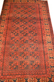 rug3623 3.9 x 6.4 Tribal Rug - Crafters & Weavers - 3