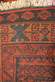 rug3623 3.9 x 6.4 Tribal Rug - Crafters & Weavers - 4