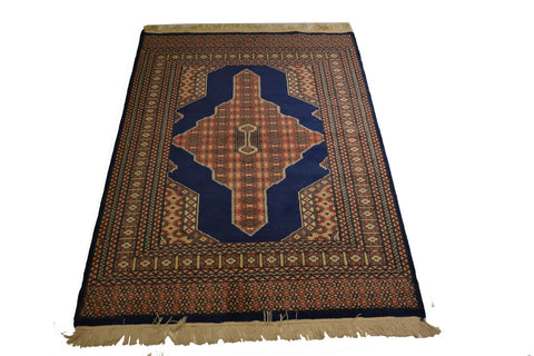 rug2086 4.2 x 6.2 Pakistani Rug - Crafters & Weavers - 1