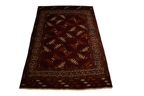RugC1049 4.3 x 6.7 Tribal Rug - Crafters & Weavers - 1