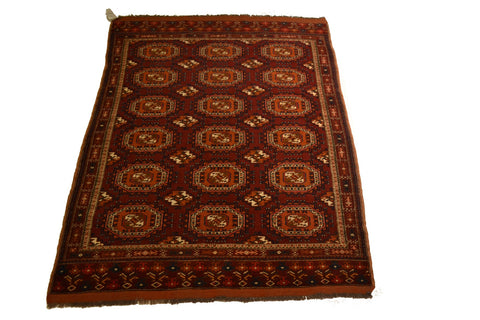RugA1049 4.5 x 5.11 Tribal Rug - Crafters & Weavers - 1