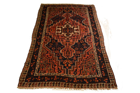 rug27 5 x 8.2 Persian Tabriz Rug - Crafters & Weavers - 1