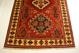 rug3008 4.1 x 6.6 Tribal Kargai Rug - Crafters & Weavers - 2
