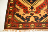 rug3011 4.1 x 5.9 Tribal Kargai Rug - Crafters & Weavers - 3