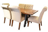 Granville Parota Dining Table Set - Crafters & Weavers - 1