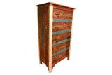 La Boca 5 Drawer Dresser - Crafters & Weavers - 1