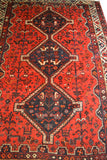 rugK92 5.4 x 7.4 Persian Shiraz Rug - Crafters & Weavers - 2