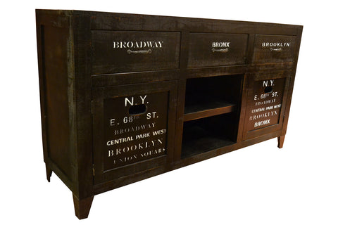 City 64 Inch Console Cabinet - Crafters & Weavers - 1