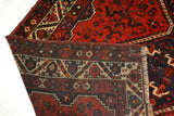 rugK92 5.4 x 7.4 Persian Shiraz Rug - Crafters & Weavers - 4