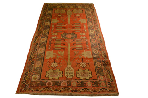 rug935 5.3 x 9.9 Samarkand Rug - Crafters & Weavers - 1