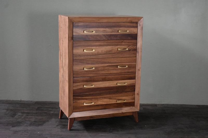 Midtown 5 Drawer Highboy Dresser