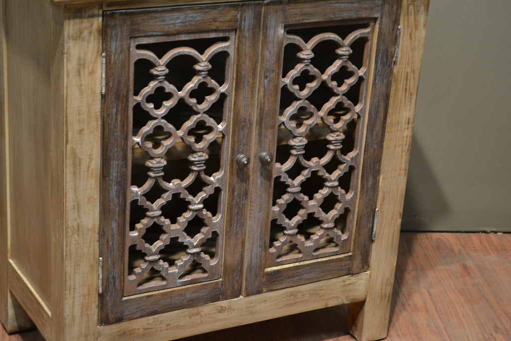 ... Keystone Metalwork Door Curio Cabinet   Crafters U0026 Weavers   ...